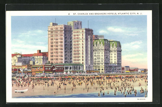 AK Atlantic City, NJ, St. Charles and Breakers Hotels