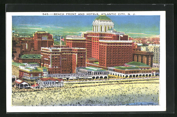 AK Atlantic City, NJ, Beach Front and Hotels