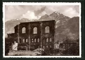 AK Aosta, Teatro Romano e M. Emillius