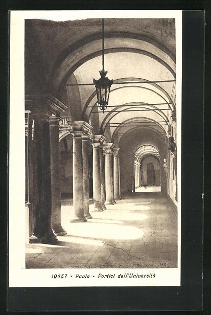 AK Pavia, Portici dell`Universita