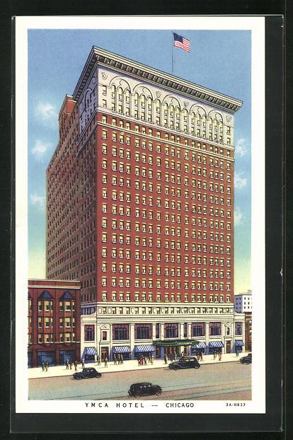 AK Chicago, IL, YMCA Hotel
