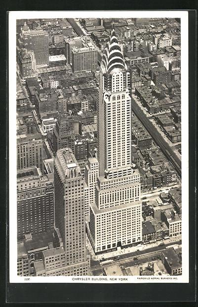 AK New York, NY, Chrysler Building