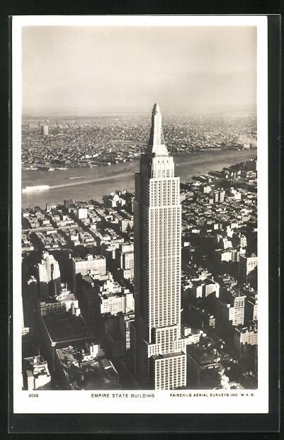 AK New York, NY, Empire State Building