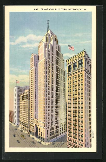 AK Detroit, MI, Penobscot Building