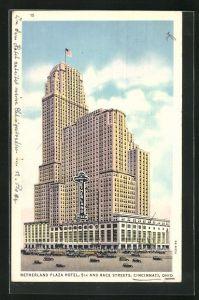 AK Cincinnati, OH, Netherland Plaza Hotel, 5th and Race Streets