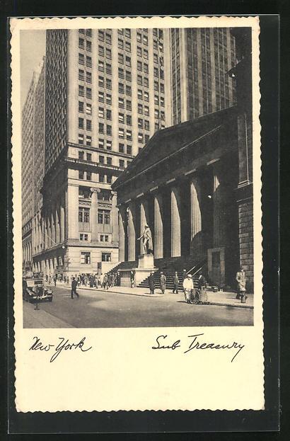 AK New York, NY, Sub Treasury