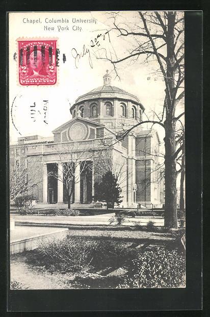 AK New York, NY, Columbia University, Chapel
