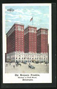 AK Philadelphia, PA, The Benjamin Franklin Hotel, Chestnut at Ninth Street
