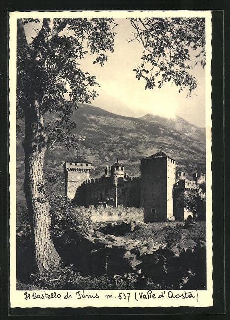 AK Jénis / Val d`Aosta, Il Castello di Jénis