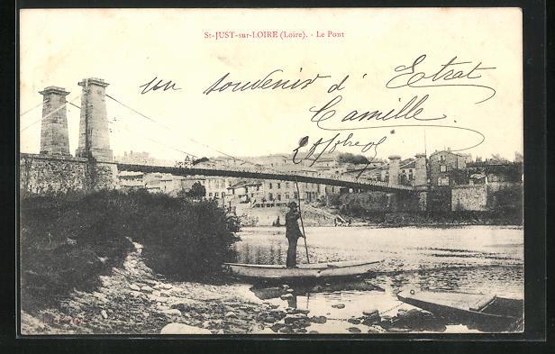AK St-Just-sur-Loire, Le Pont