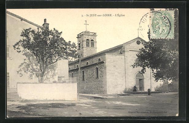 AK St-Just-sur-Loire, L`Eglise
