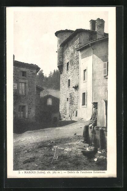 AK Marols, Debris de l`ancienne forteresse
