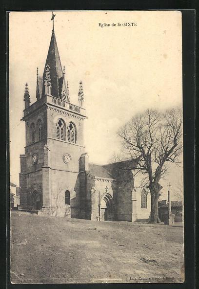 AK St-Sixte, L`Eglise