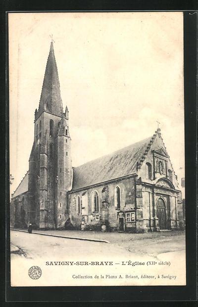 AK Savigny-sur-Braye, L`Eglise