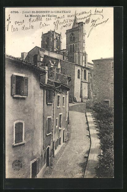 AK St-Bonnet-le-Chateau, La Montee de l`Eglise