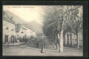 AK Albertville, Quai des Allobroges