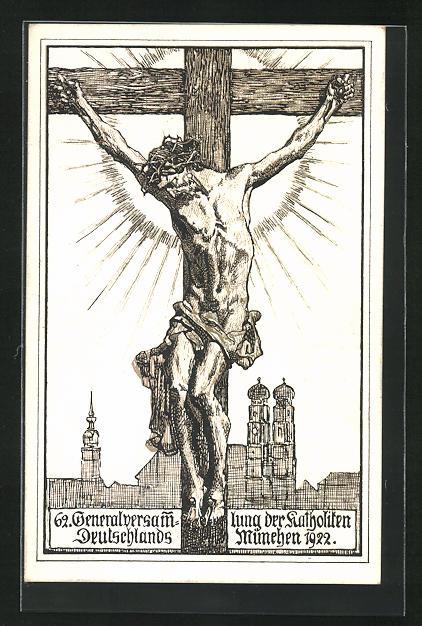 AK Xaver Dietrich: Kruzifix