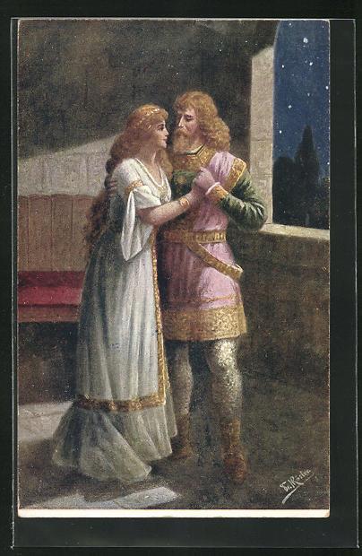AK R. Wagner, Lohengrin, III. Akt, 2. Szene
