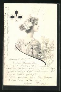 AK Kreuz-Dame, Kartenspiel