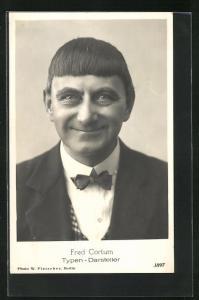 AK Komiker und Typen-Darsteller Fred Cortum