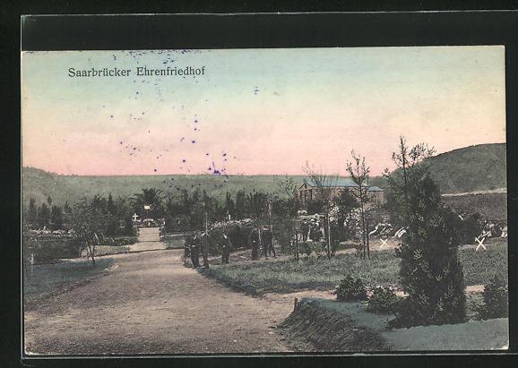 AK Saarbrücken, Ehrenfriedhof