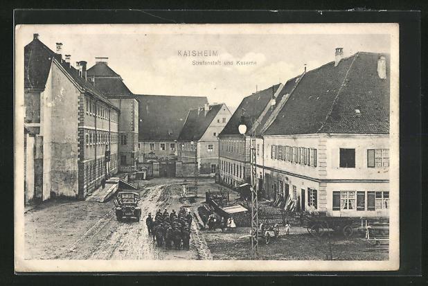 AK Kaisheim, Strafanstalt und Kaserne