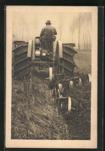 AK Traktor, Trattrice Agricola, Tipo 702, Aratura in risaia