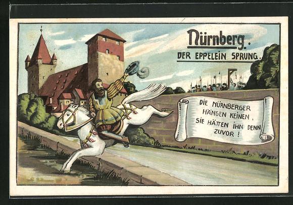 AK Nürnberg, Sage Der Eppelein Sprung