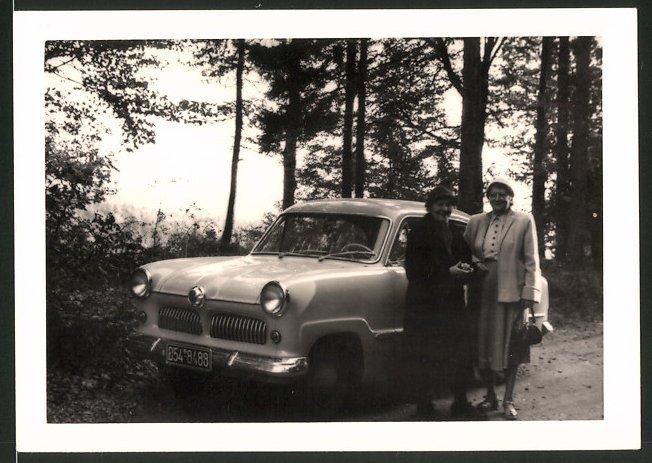 Fotografie Auto Ford Taunus, PKW bei Riedenburg 1956