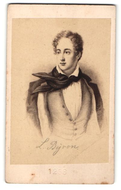 Fotografie Portrait Lord Byron