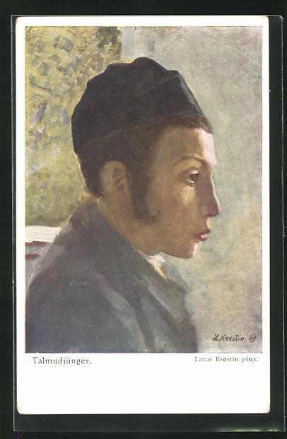 AK Talmudjünger in der Synagoge