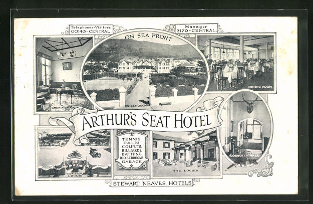 AK Cape Town, Arthur`s Seat Hotel, Corner Hall, Dining Room
