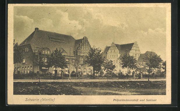 AK Schwerin / Skwierzyna, Präparandenanstalt und Seminar
