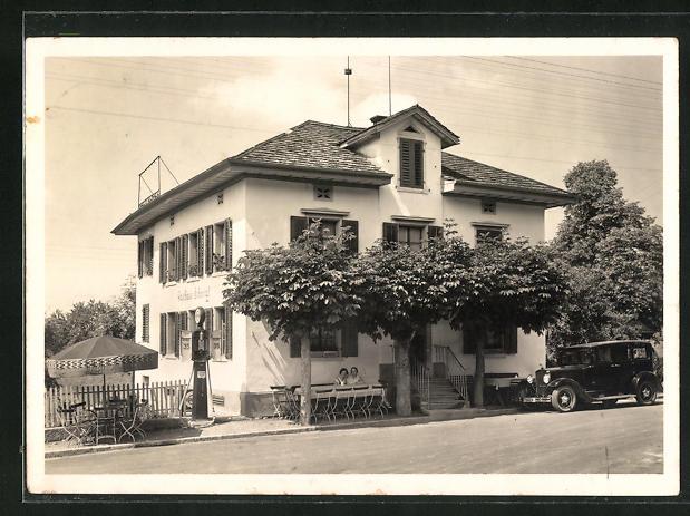 AK Langenbruck, Gasthaus Pension Schöntal Hütten