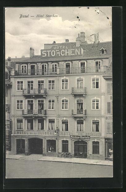 AK Basel, Hotel Storchen