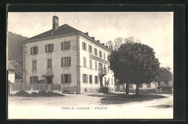 AK Chezard, Hotel de Commune