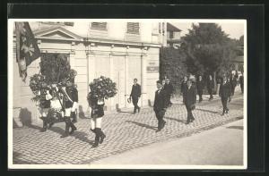 AK Niederrickenbach, Maria-Rickenbach-Prozession im Ort