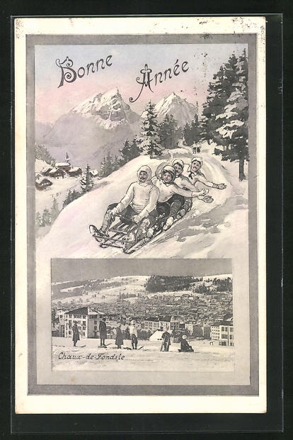 AK Chaux-de-Fonds, Panorama und Schlittler