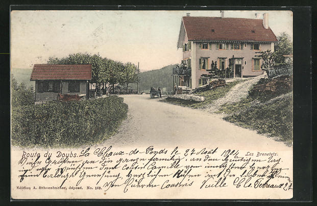 AK La Chaux-de-Fonds / Doubs, Les Brenetets