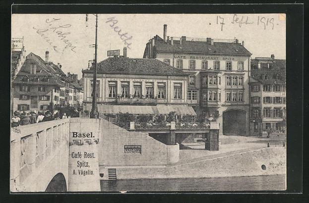 AK Basel, Cafe-Restaurant Spitz