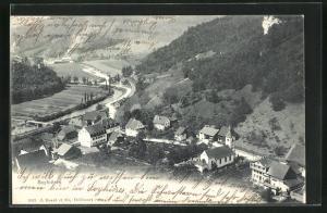 AK Soyhieres, Bergblick auf den Ort