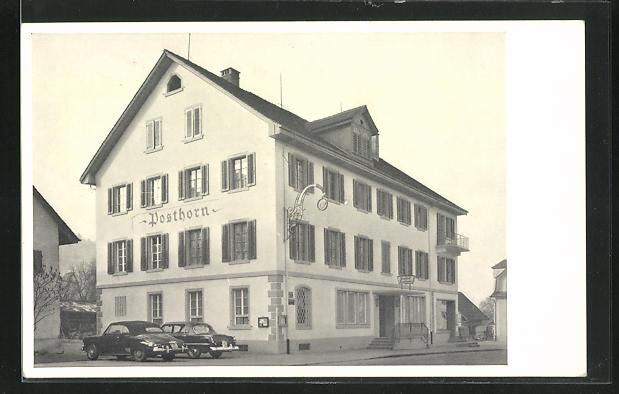 AK Neuenhof, Ansicht vom Gasthof Posthorn