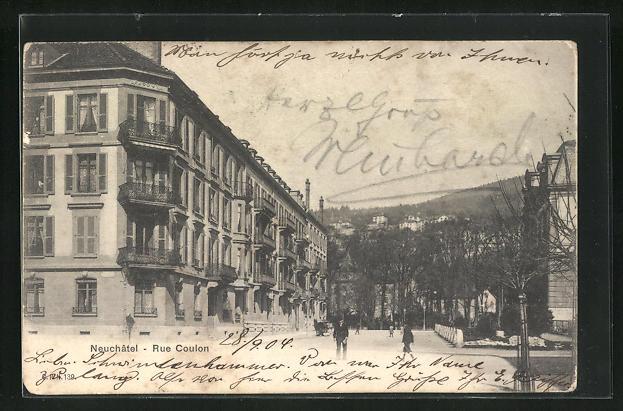 AK Neuchatel, Rue Coulon