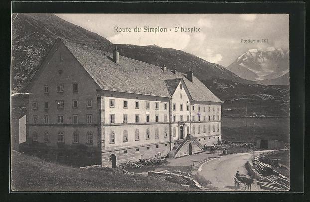 AK Simplon, L`Hospice, Route du Simplon & Fletschorn