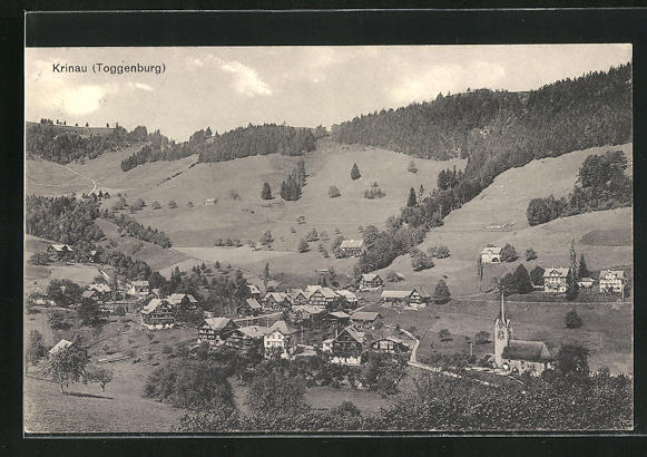 AK Krinau-Toggenburg, Ortsansicht