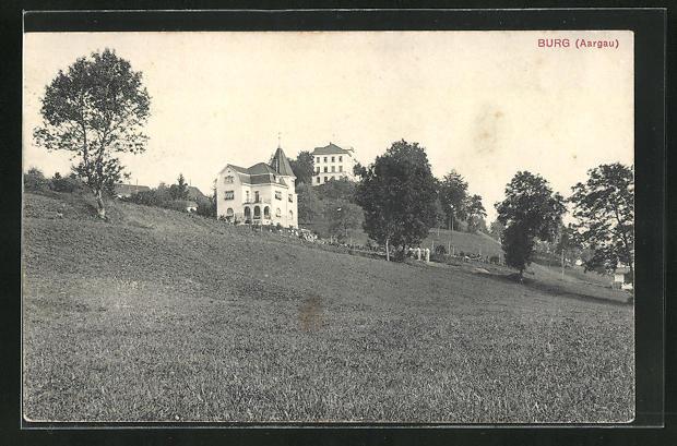 AK Aarau - Burg, Villenpartie