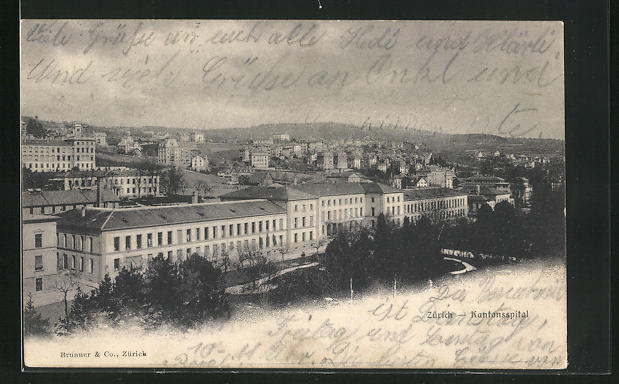 AK Zürich, Kantonsspital