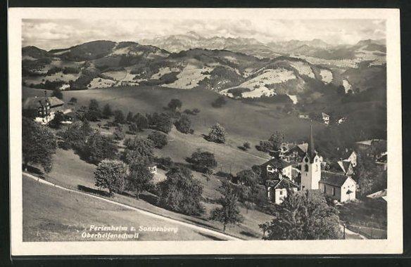 AK Oberhelfenschwil, Ferienheim z. Sonnenberg