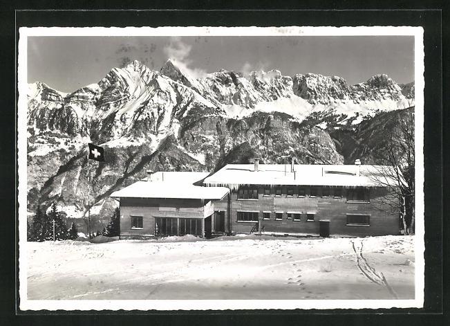 AK Flums-Grossberg, Ski- und Ferienheim des Turnverein Alte Sektion Zürich