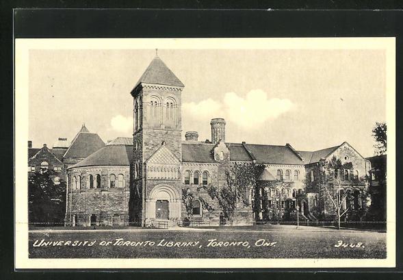 AK Toronto / Ont., University of Toronto Library